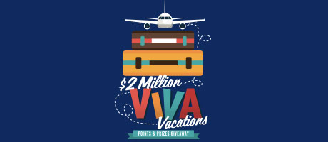 2 Million Viva Vacations
