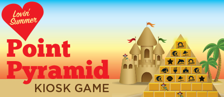 Lovin' Summer Point Pyramid Kiosk Game