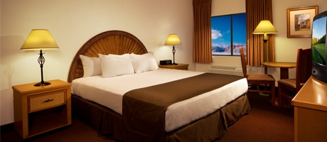 Freshly rennovated King room at Fiesta Henderson Hotel & Casino
