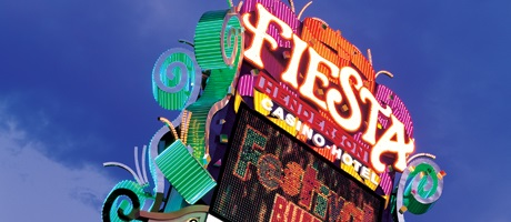 Marquee sign at Fiesta Henderson Hotel & Casino